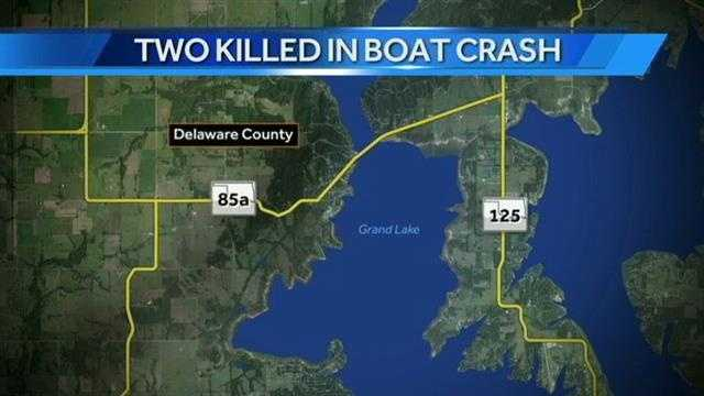 Investigators say the boat crashed near the Duck Creek area.