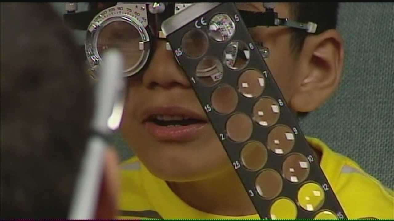 A group of eye doctors from all over the metro are giving free eye care to survivors of last week's tornado outbreak.