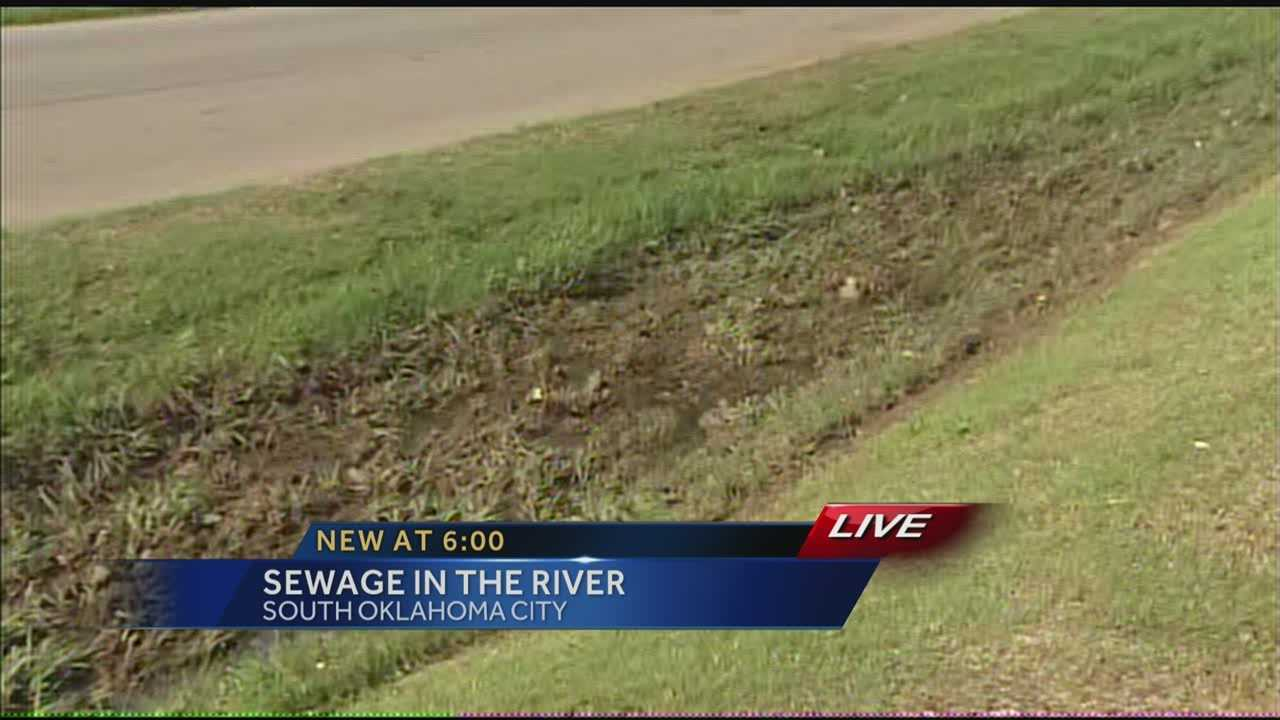 Sewage problem in SW Oklahoma City has business owners upset