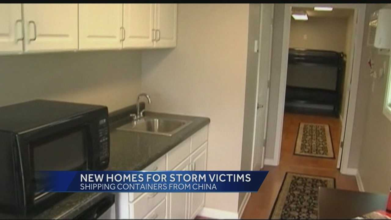 El Reno families whose homes were destroyed by last month's tornado will get an unusual type of temporary housing.