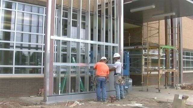 The Broken Arrow school district has six new buildings under construction.  Thousands of students will enjoy the facilities starting this fall.