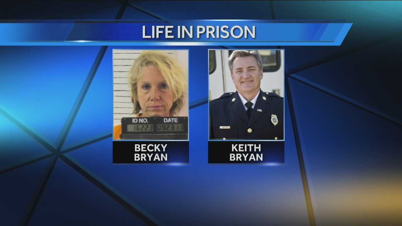Becky Bryan sentenced to life in prison