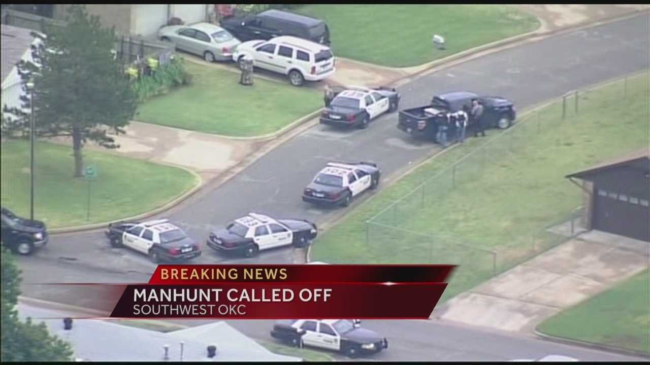 SW Oklahoma City police chase called off