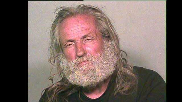 Raymond Hulsey, 58, was arrested on suspicion of burglary, peeping tom, and trafficking a controlled dangerous substance. Click here to find out what he was wearing.