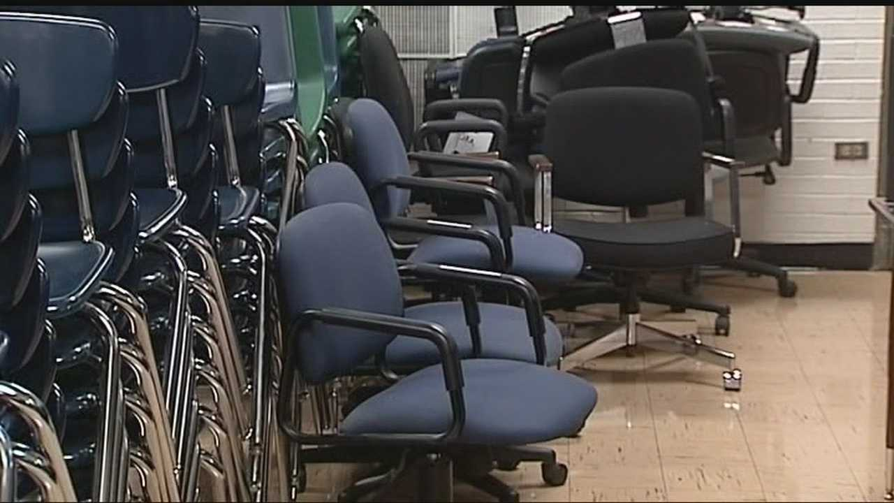 Moore schools are borrowing school supplies and furniture from Norman schools through a school bond.