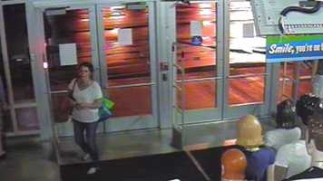 Edmond police are looking for the woman they believe stole from the Old Navy store on South Bryant Avenue.