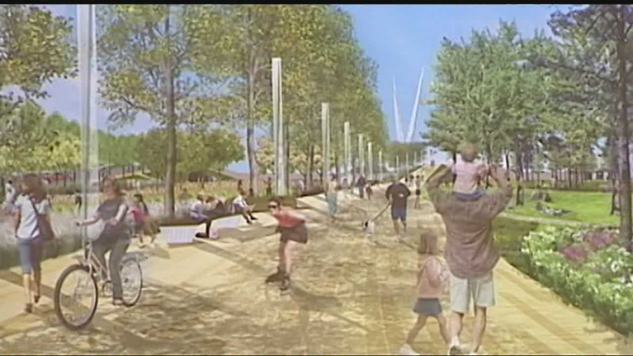 Plans for a new Oklahoma City public park were revealed Wednesday. The park would be built downtown as a MAPS 3 project.