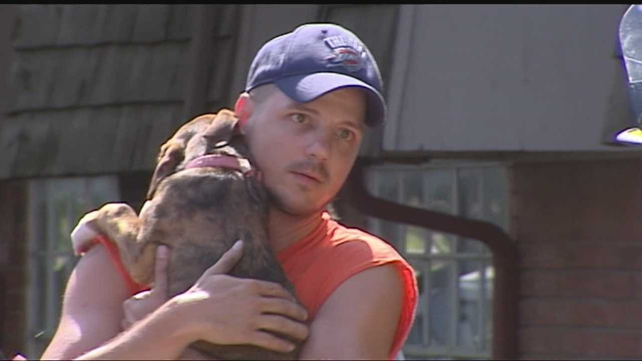 Neighbors rescue pets from Bethany apartment blaze