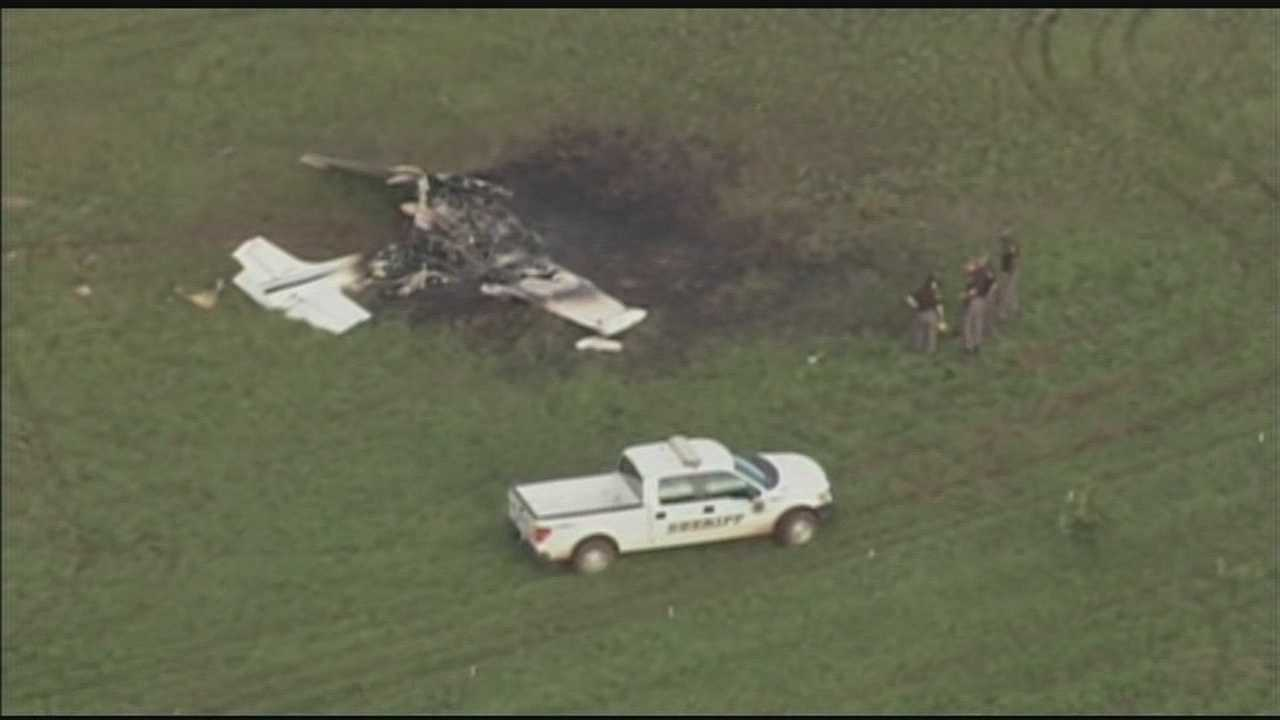 An Oklahoma Highway Patrol plane involved in a search crashed in Pottawatomie County.