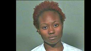 Chelsey Renee Morrison, 20, arrested on suspicion of being a prostitute.