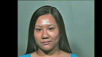 Sara Saechao, 20, arrested on suspicion of being a prostitute.