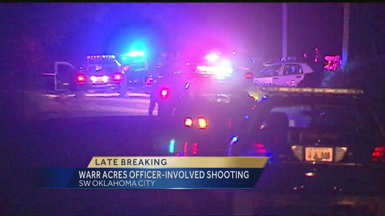 Man shot, killed by Warr Acres police officer Friday