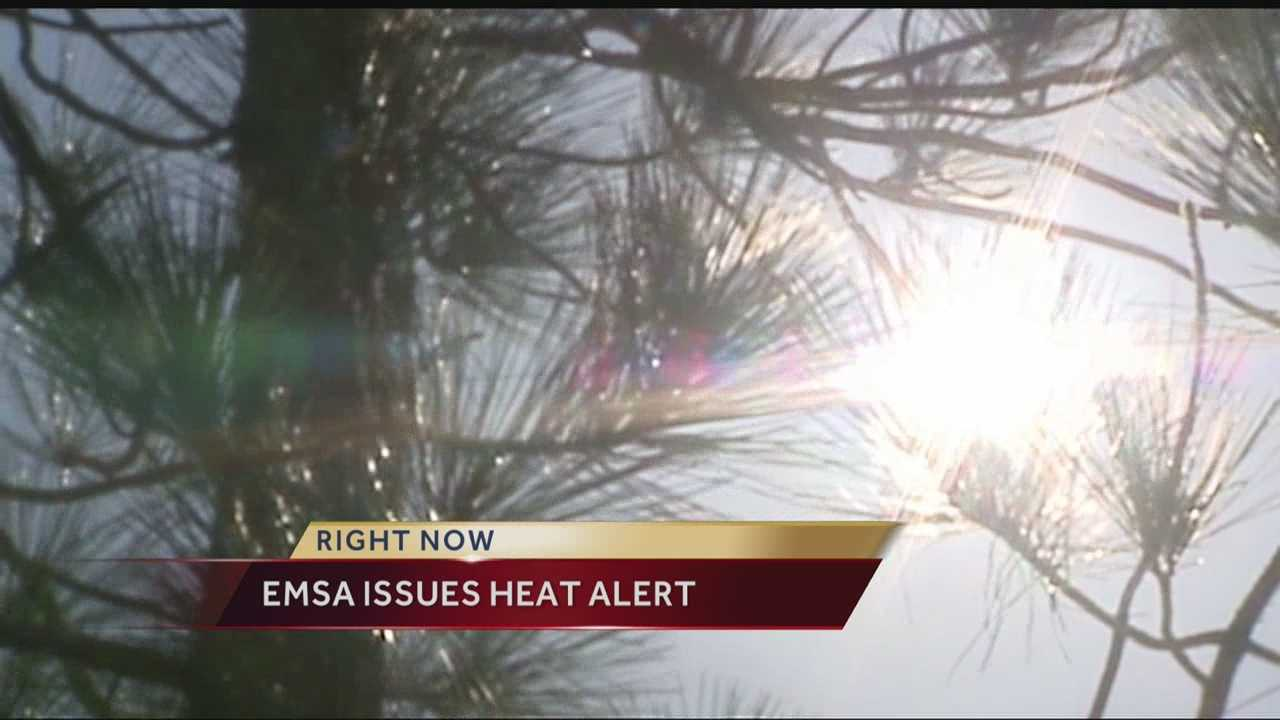 The high temperatures and increasing humidity have prompted Emergency Management Services Authorities officials to issue the fourth heat alert of the summer.