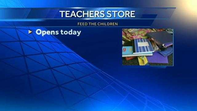 A relief organization is offering qualified metro teachers supplies for free.