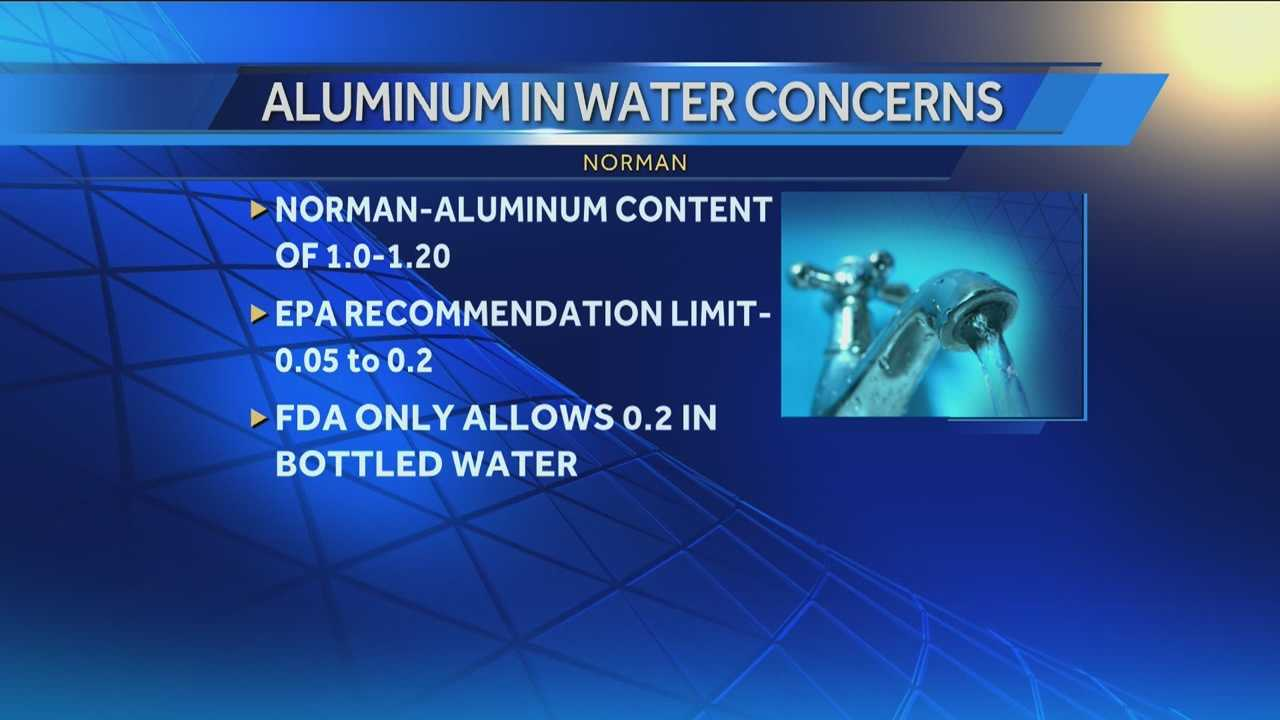 The water plant supervisor explains what is in the water that the FDA may call unsafe.
