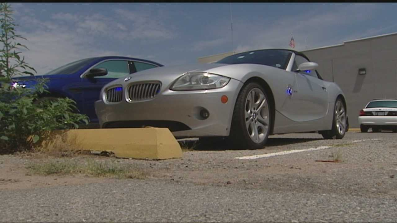 Chickasha police chief nabs shoplifter in beefed up BMW patrol car