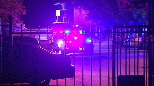 Woman injured during apartment gun battle