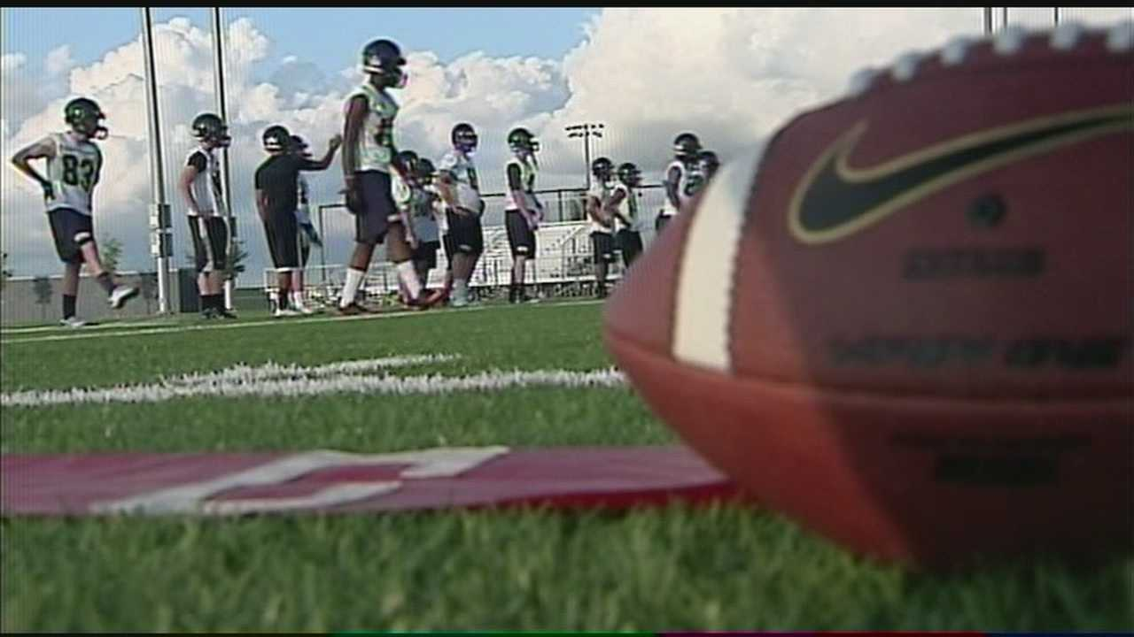 A local high school in Moore is uniting for this year's football season.