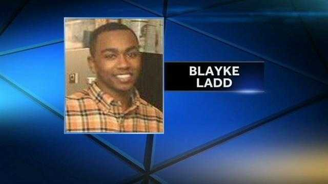 Blayke Ladd was supposed to appear before a judge for a drug charge on Wednesday.