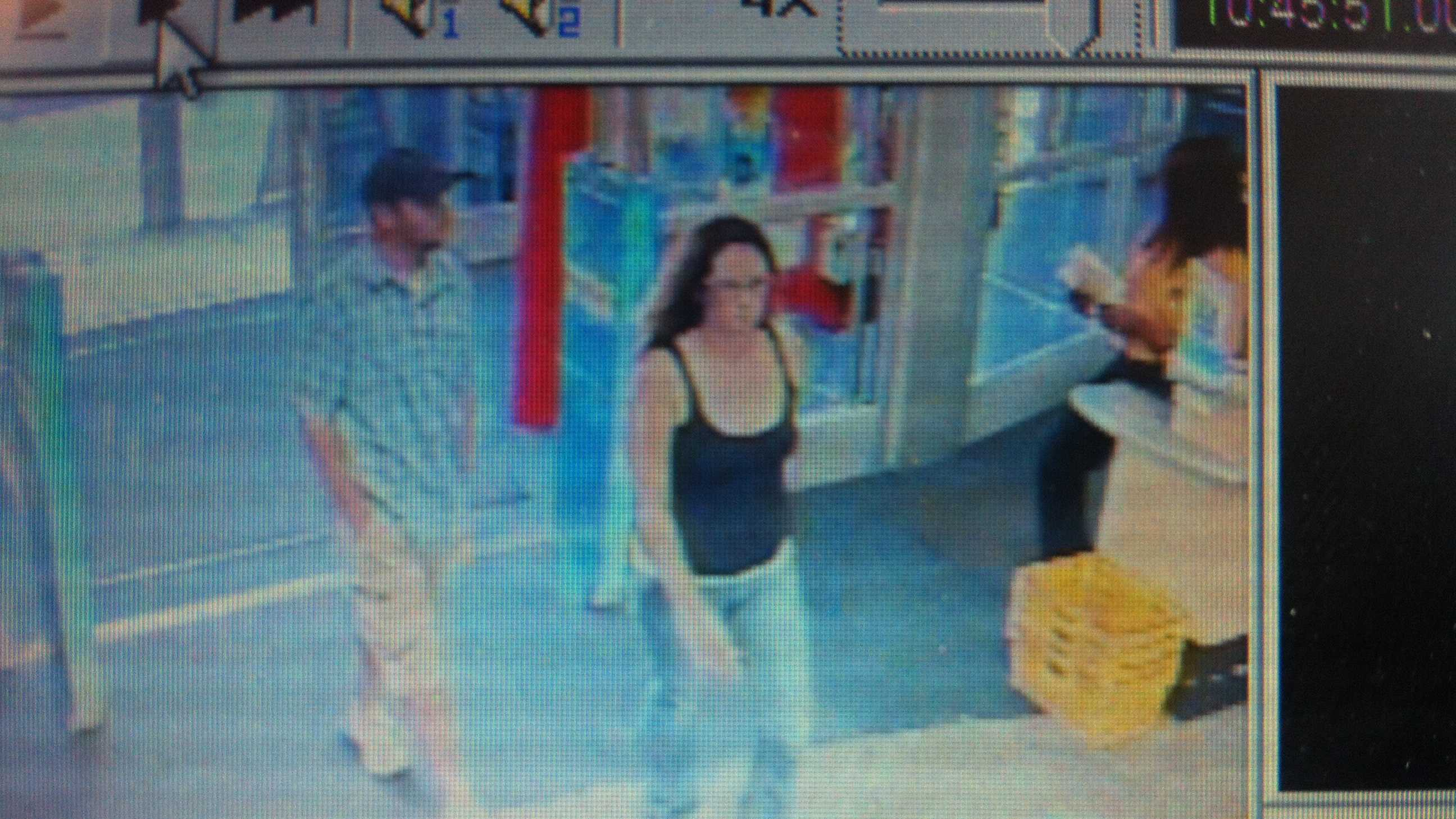 Police release photos of pair in Inhofe robbery