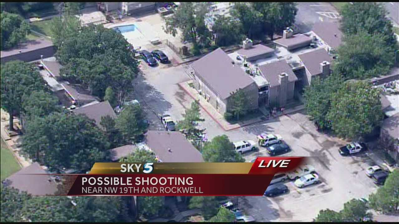Shooting victim enters OKC McDonald's
