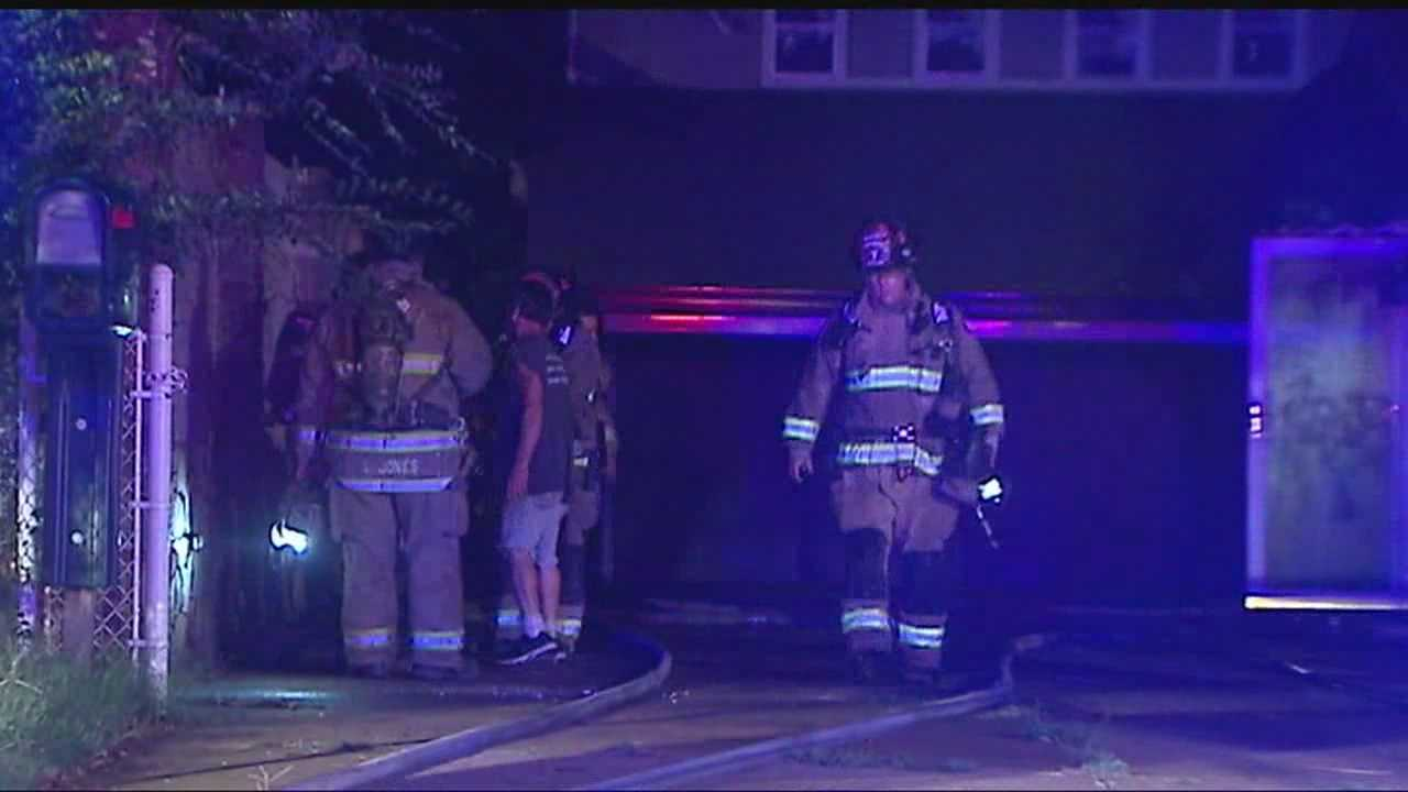 A fire broke out at a home near SE 34th Street and Phillips Avenue Friday morning.  Investigators are calling it suspicious.