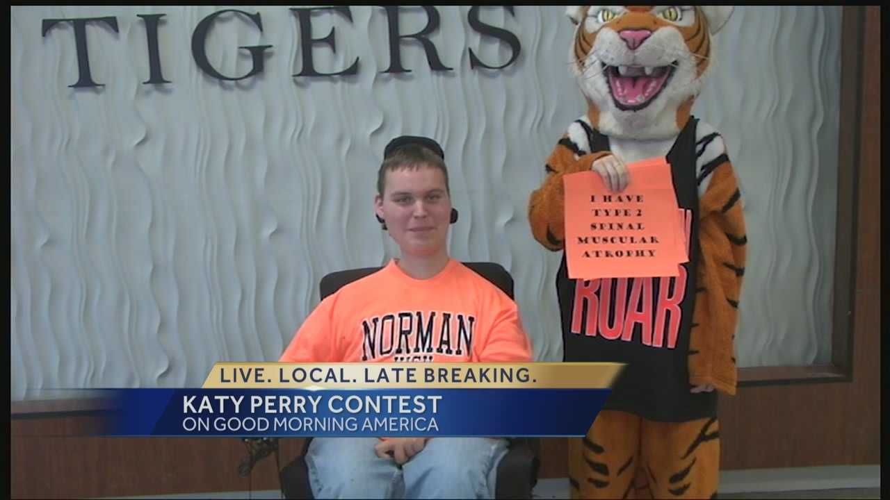 Norman student competes to see Katy Perry live in concert