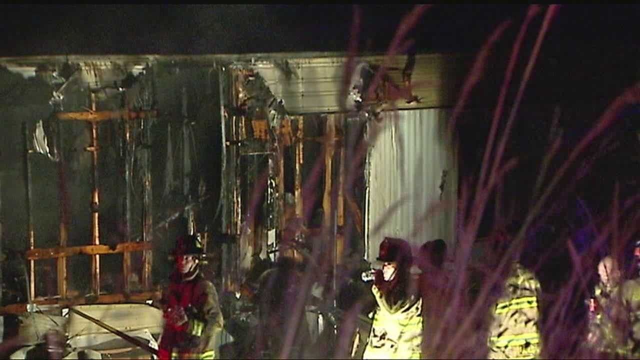 An overnight house fire near SE 149th and Country Dr. caused some problems for crews because of a lack of nearby hydrants.