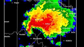 Hook echo The hook echo is one of the classical hallmarks of tornado-producing supercell thunderstorms as seen on a weather radar.