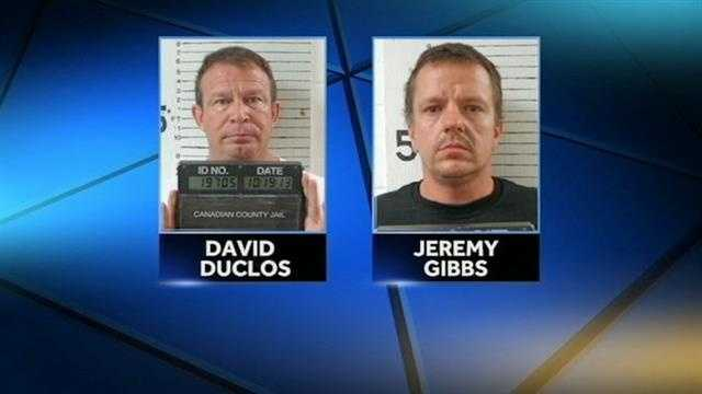 Canadian County deputies say the men tried to have sex with a 14-year-old girl.