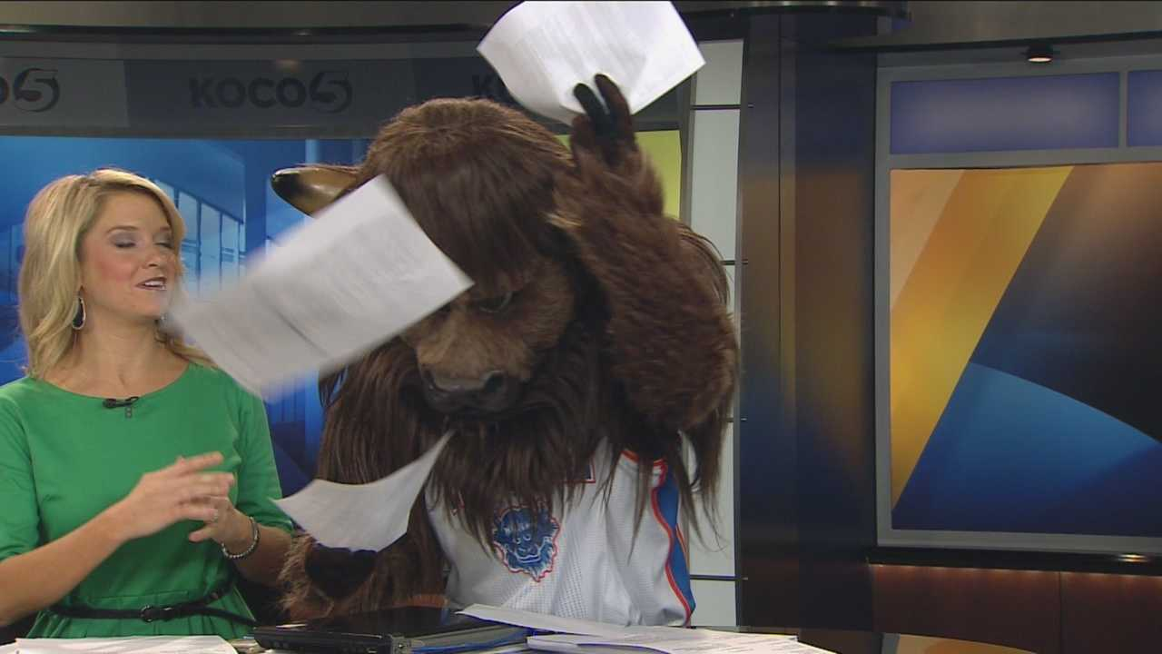 img-Rumble stops by to preview OKC Thunder season opener