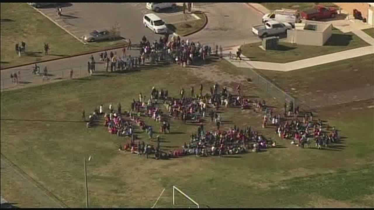 Coolidge Elementary was evacuated Tuesday afternoon after a maintenance man believed a monitor indicated a problem, according to an Oklahoma City Fire Department official.