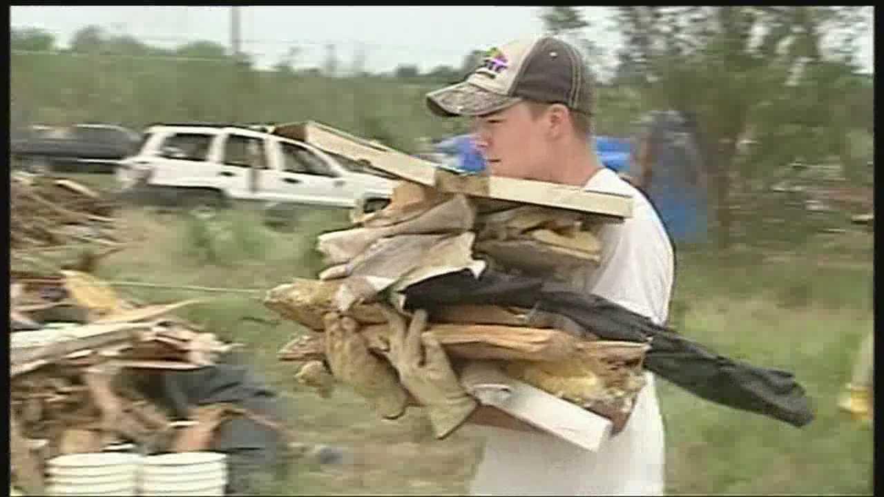 Carney tornado