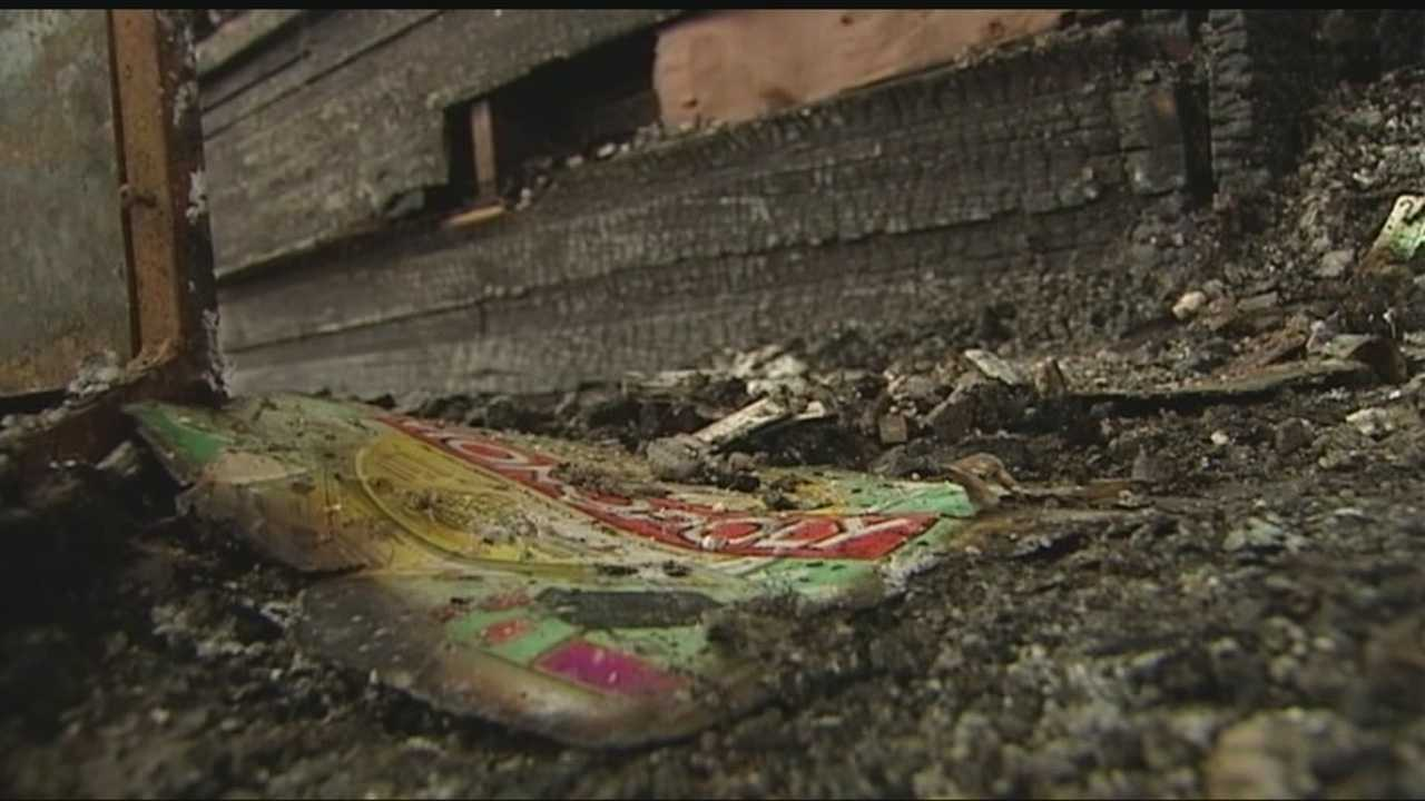 A Purcell family is recovering after a fire burned through their home in the middle of the night.