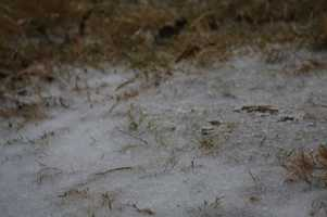 Ice in Moore - Photo by Jack Buzzard
