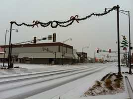 Downtown Weatherford - Photo by KOCO 5's Rob Hughes