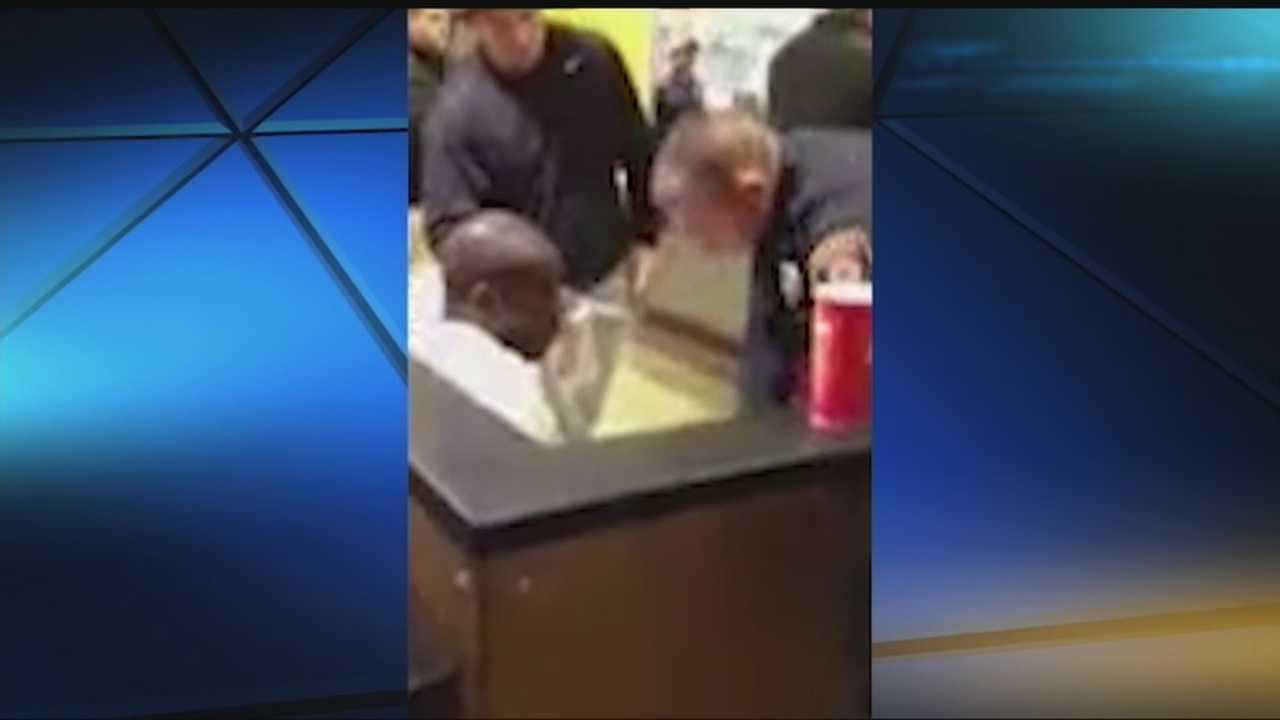 img-Shooting victim drives himself to Norman restaurant