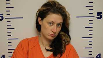Lacey White was arrested in Logan County on suspicion of possession of controlled substance and possession of drug paraphernalia.