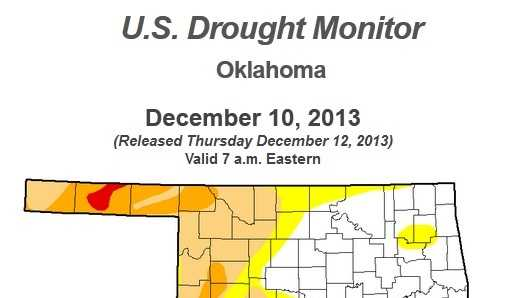 Current Oklahoma Drought Conditions