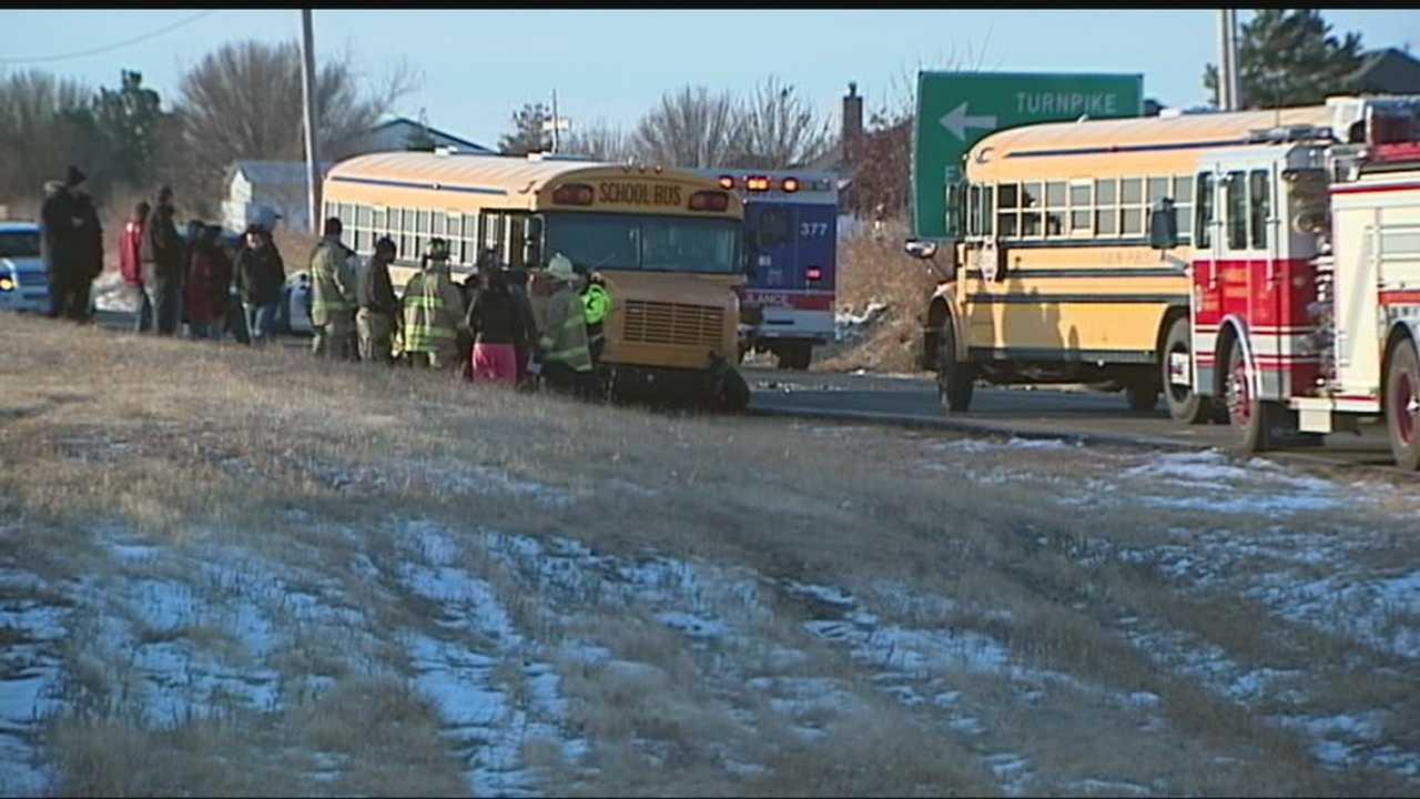 60 students involved in Yukon bus crash