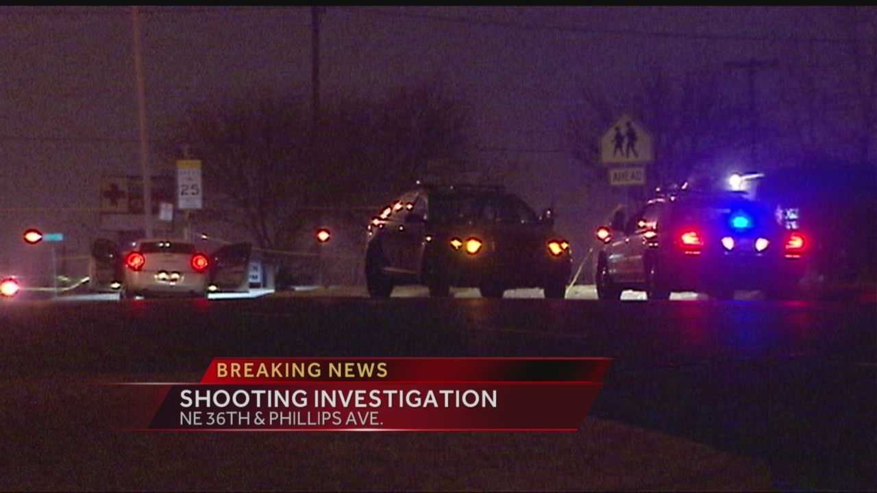 Two people in the hospital after shooting