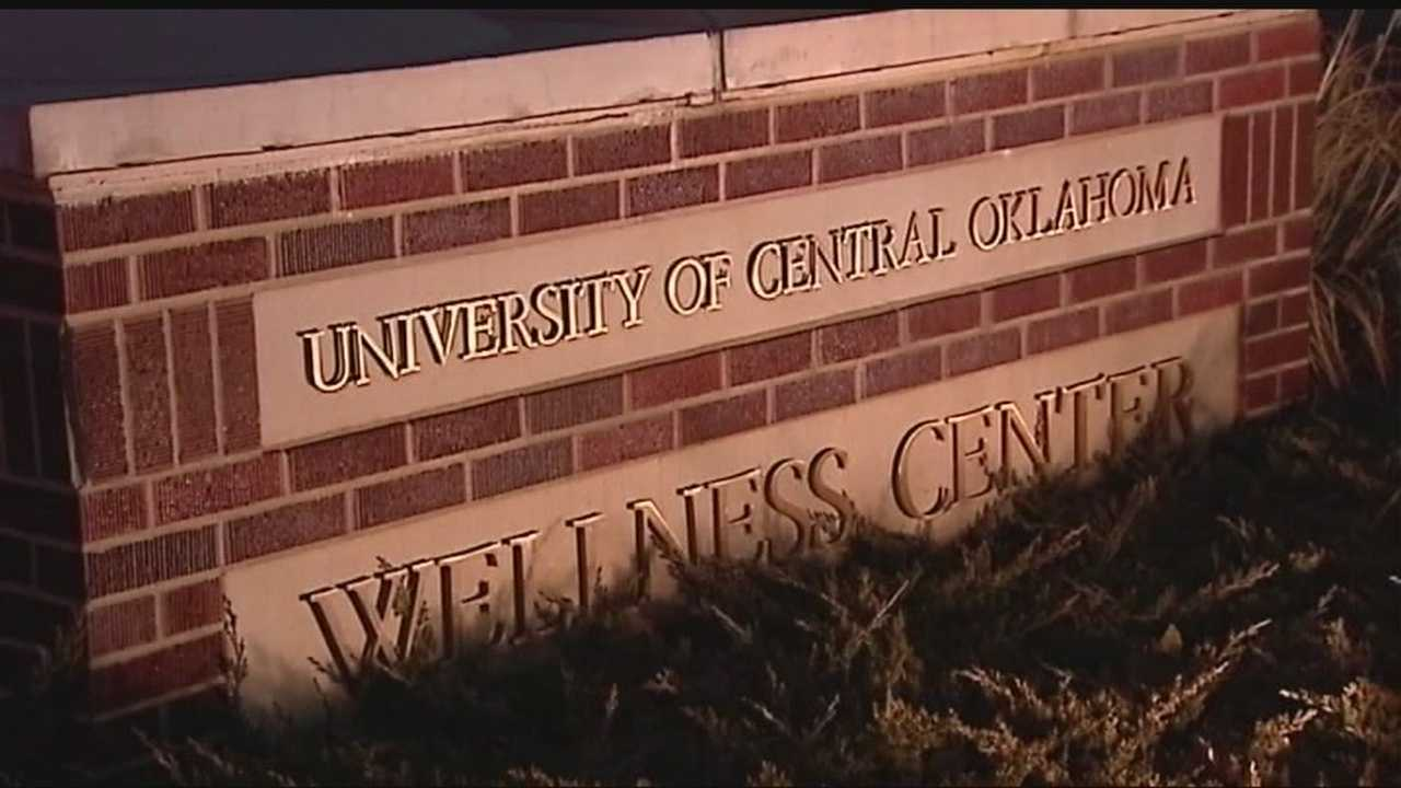 University of Central Oklahoma police arrested a man Thursday after allegedly exposing himself on campus.