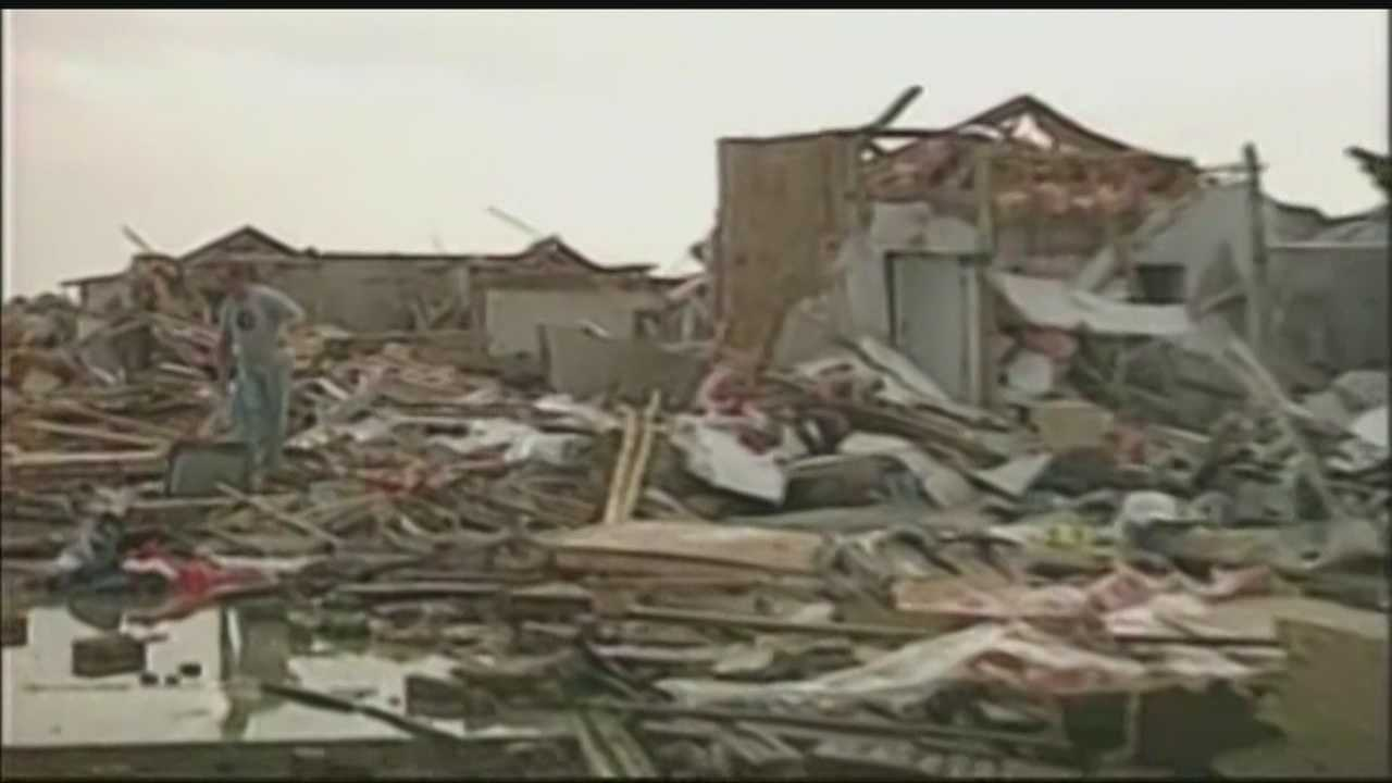 Meteorologist and engineer Tim Marshall surveyed the damage of three tornadoes that damaged homes in Moore and he says he found that most homes were not even built to code.