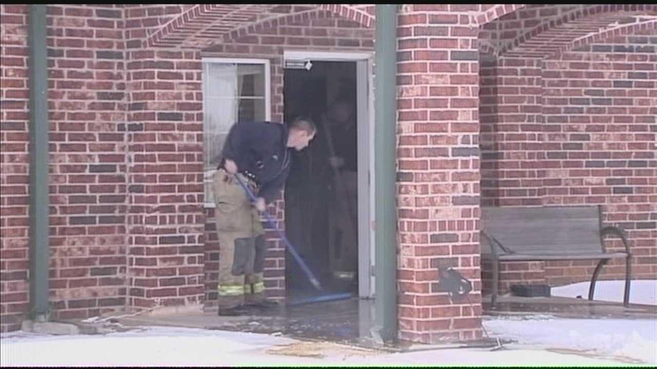 Businesses flooding after fire sprinkler lines freeze