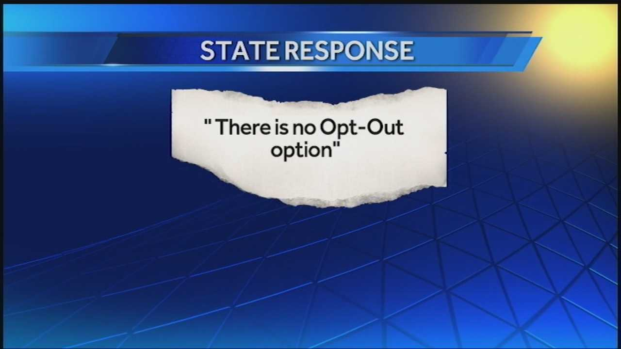 The parents of an Edmond third-grader are refusing to allow him to take a state required reading test.