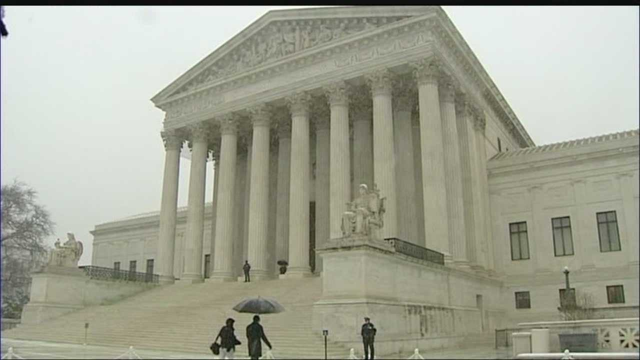 The Supreme Court examines health care law regarding companies, like Hobby Lobby, providing birth control to employees.