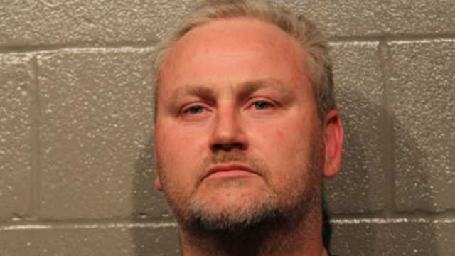 Kevin Grace was arrested on suspicion of animal cruelty.