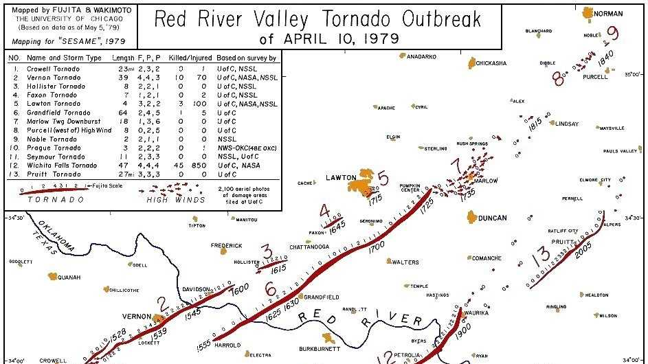 1979 Red River Valley Tornado Outbreak