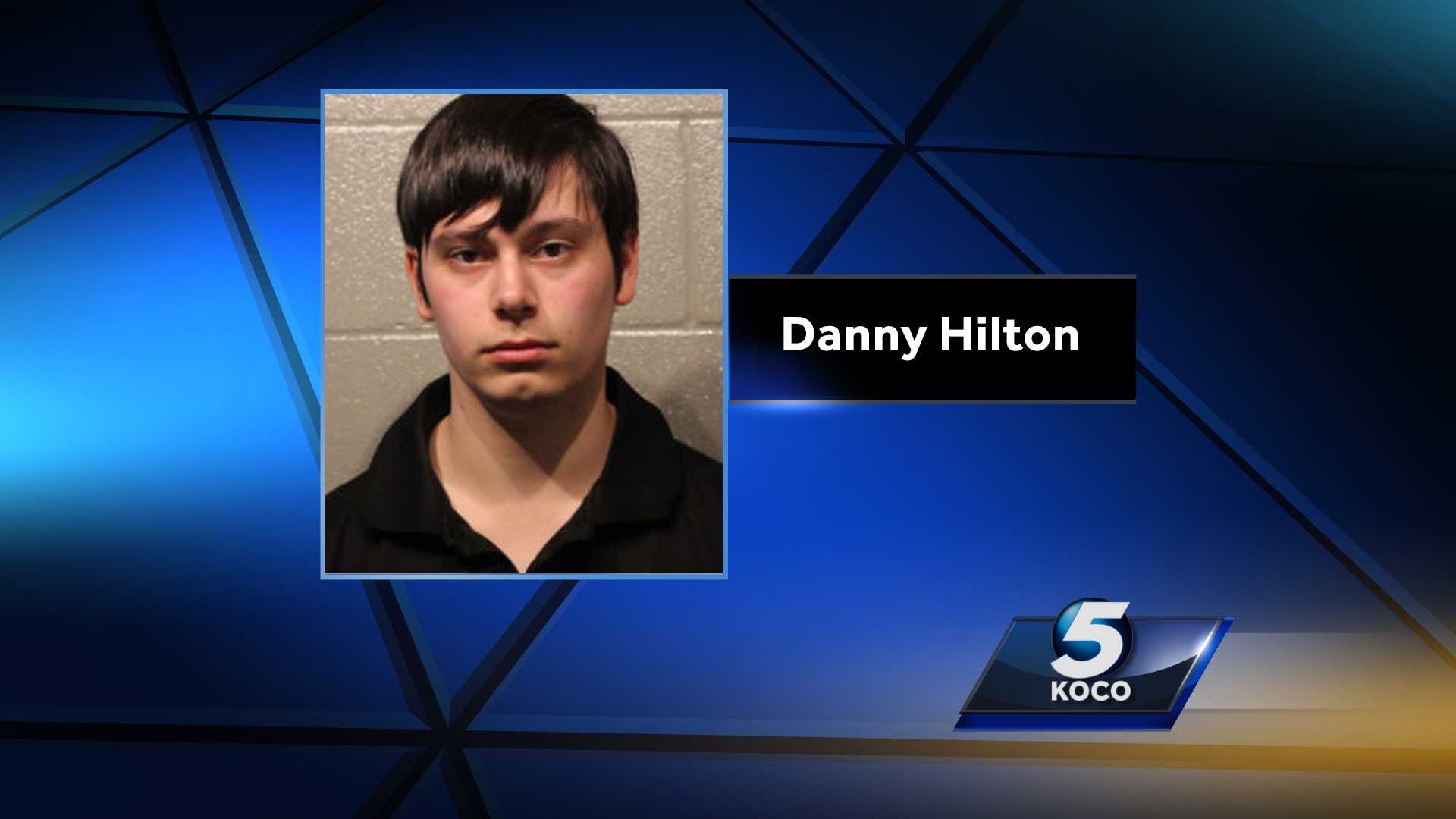 Danny Lee Ray Hilton was arrested on suspicion of oral sodomy and rape.