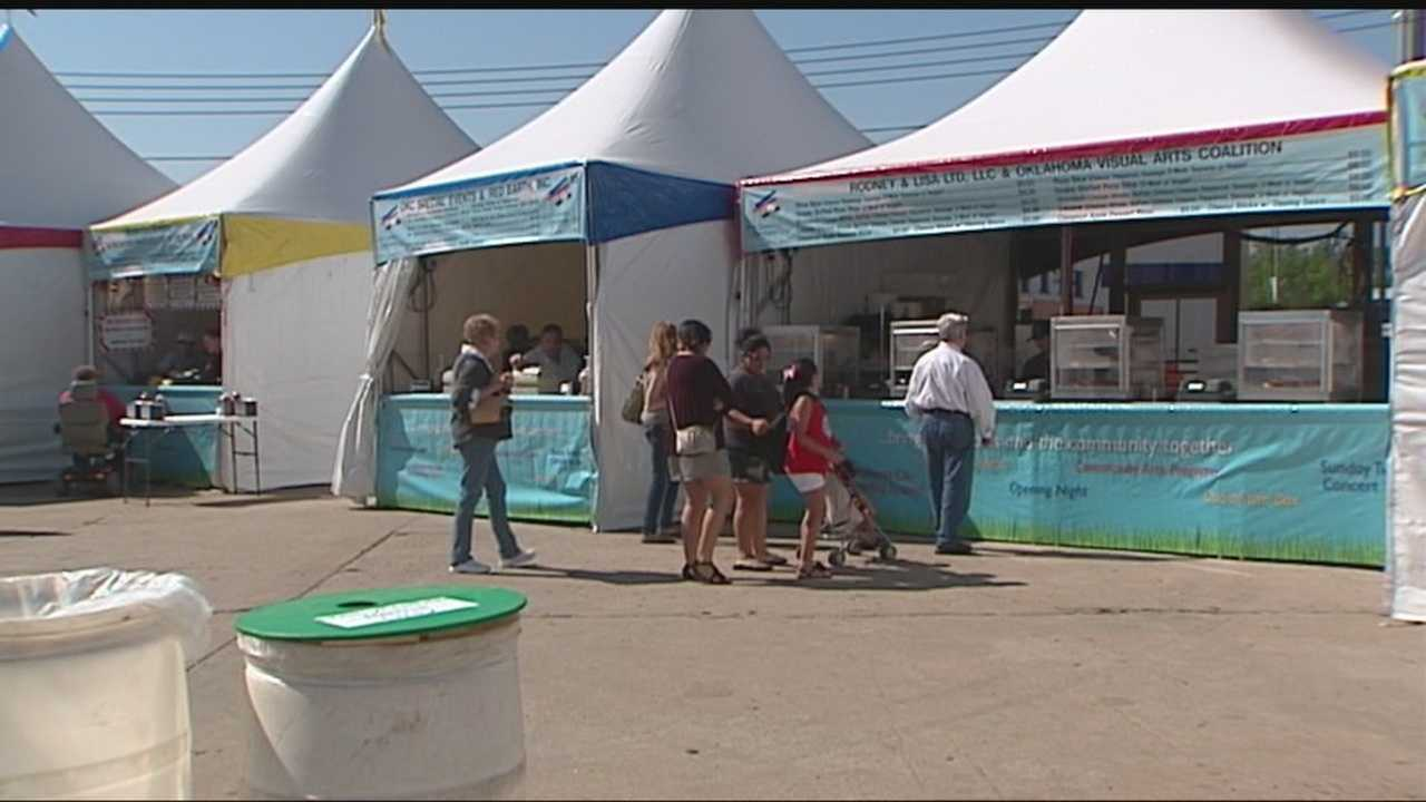Oklahoma City's Festival of the Arts wants to become the greenest event in the country.